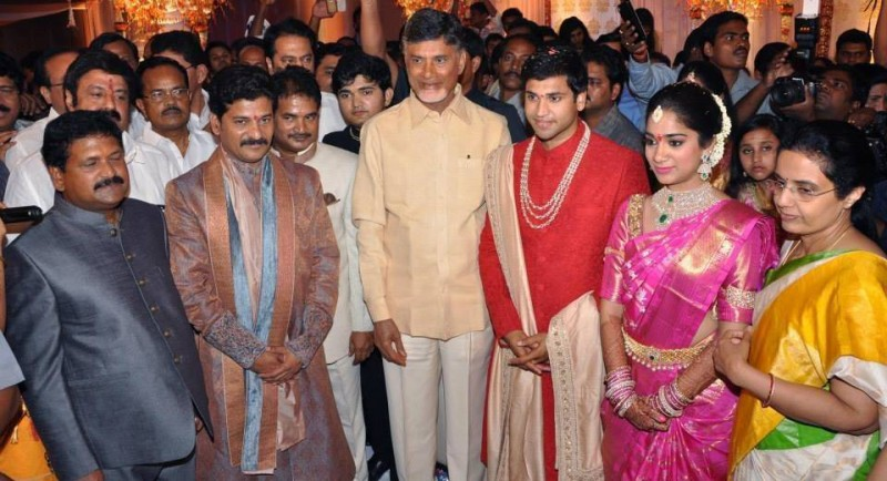 Revanth Reddy Daughter Nymisha Reddy And Satyanarayana Reddy Marriage Photos