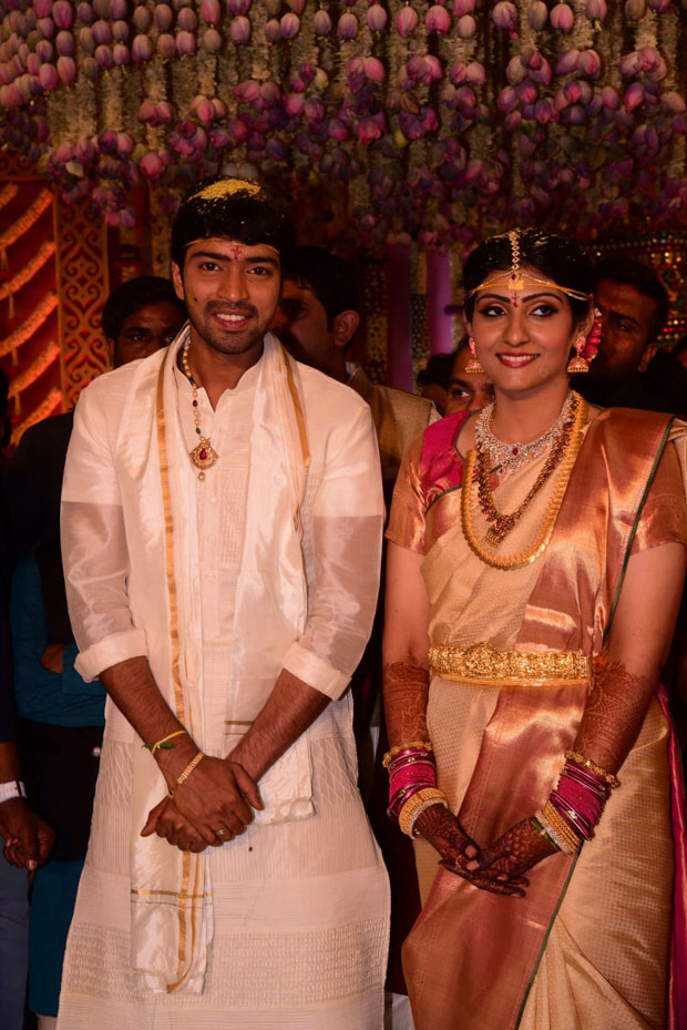 Virupa And Actor Allari Naresh Marriage Pictures