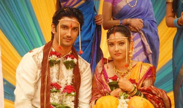 Ankita Lokhande And  Sushant Singh Rajput Marriage Photos