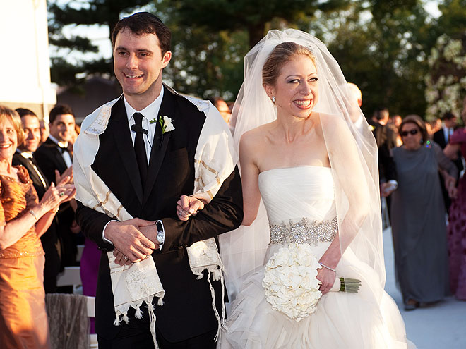 Bill Clinton Daughter Chelsea Clinton And Marc Mezvinsky Wedding Photos