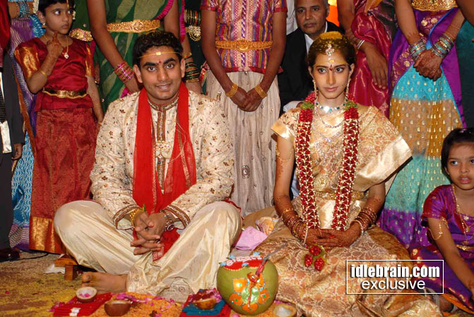 Nara Lokesh And Brahmani Wedding Photos