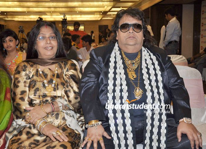 Chitrani And Bappi Lahiri Marriage Photos