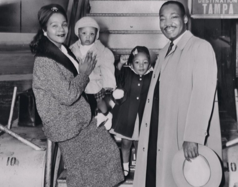 Martin Luther King Jr. And Coretta Scott Wedding Photos