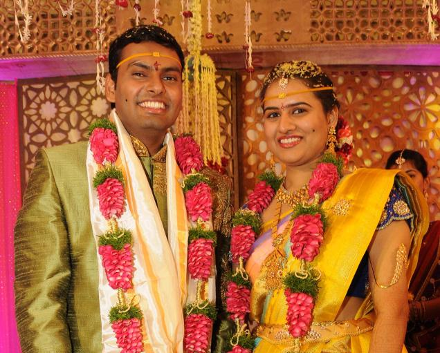 Koneru Humpy And Dasari Anvesh Marriage Photos