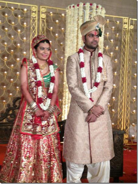 Devanshi Popat And RP Singh Marriage Photos