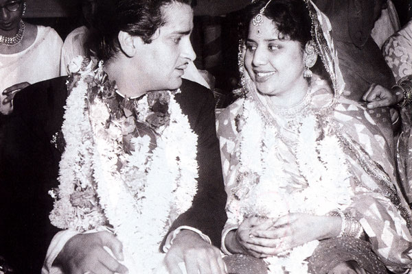 Shammi Kapoor And Geeta Bali Wedding Photos
