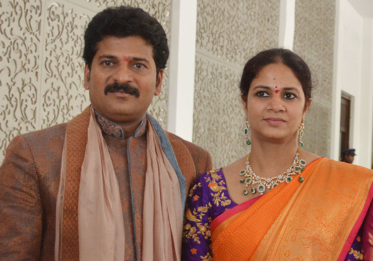 Revanth Reddy And Geetha Wedding Photos