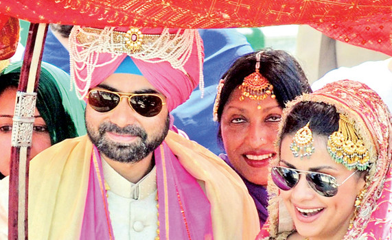 Rishi Attari And Gul Panag Wedding Photos