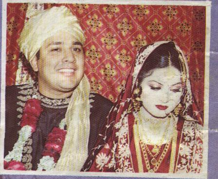 Inzamam-ul-Haq And Kashifa Wedding Photos