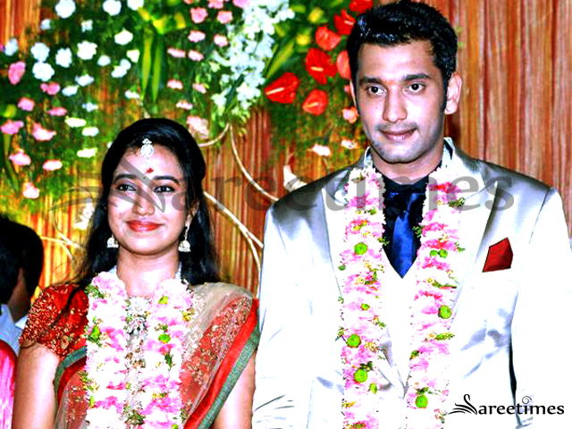 Keerthana And Tamil Actor Arulnithi Marriage Photos