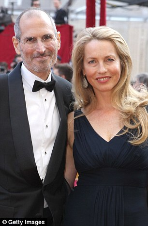 Laurene Powell And Steve Jobs Marriage Photos