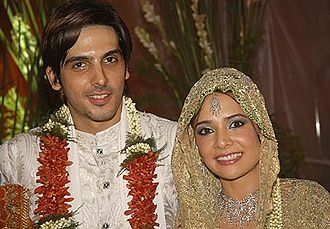 Zayed Khan And Malaika Parekh Wedding Photos