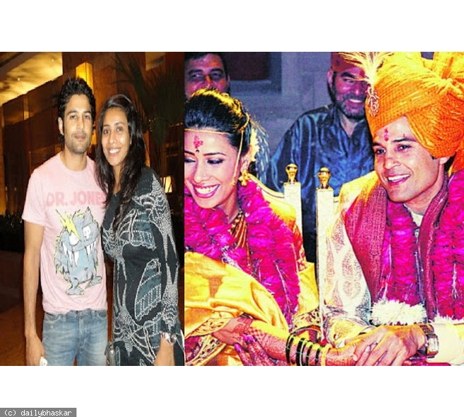 Manjiri Kamtikar  And Rajeev Khandelwal Marraige Photos