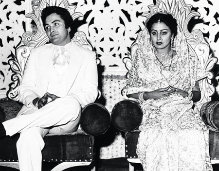 Neetu Singh And Rishi Kapoor Marraige Photos