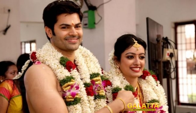 Nisha Krishnan And  Ganesh Venkatraman Marriage Photos