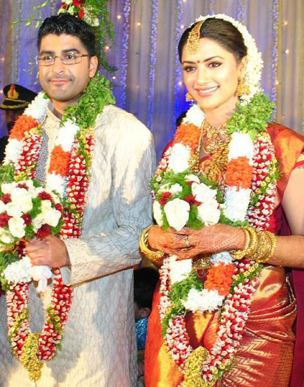 Prajith Padmanabhan And Mamta Mohandas Wedding Photos