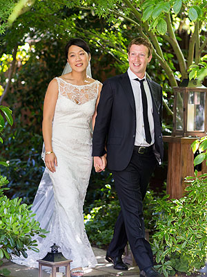 Priscilla Chan And Mark Zuckerberg  Marriage Photos