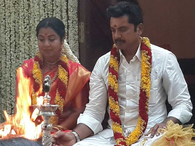Sarathkumar And Raadhika 2nd Wedding Photos