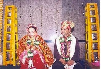 Radha Yadav And Raajpal Yadav Marriage Photos