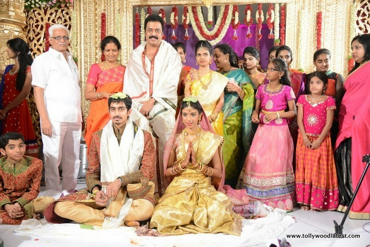 Rajasekhar And Raja Ravindra Daughter Priyanka Varma Marriage Photos