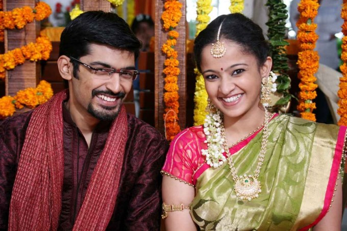 Pranav And Ram Gopal Varma Daughter Revathi Marriage Photos