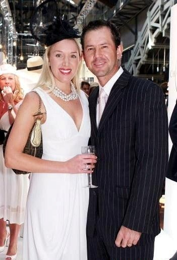 Rianna Jennifer Cantor And Ricky Ponting Marriage Photos