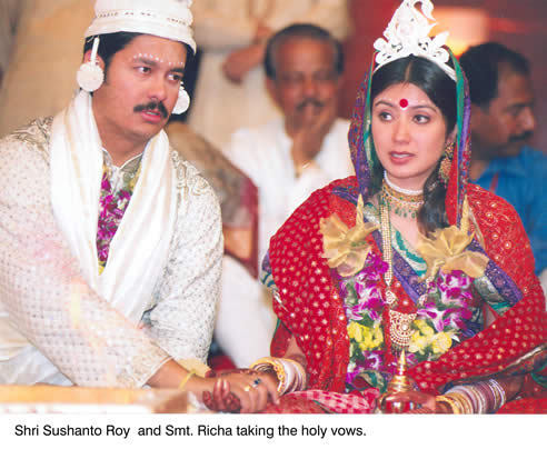 Subrata Roy Son Sushanto Roy And Richa Wedding Photos