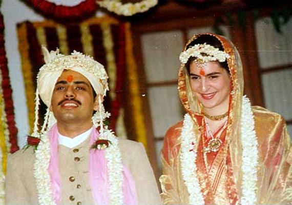 Robert Vadra And Priyanka Gandhi Wedding Photos