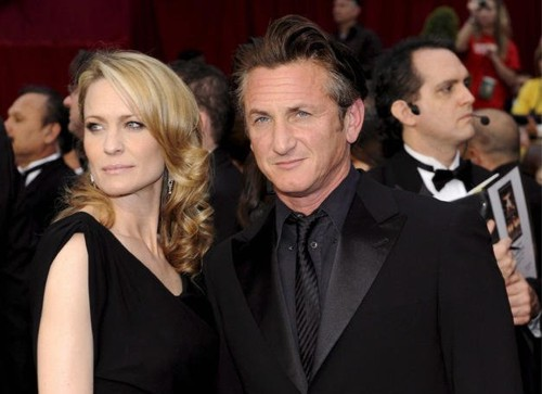 Sean Penn And Robin Wright Wedding Photos