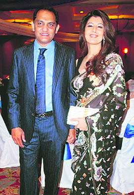 Mohammad Azharuddin And Sangeeta Bijlani 2nd Wedding Photos