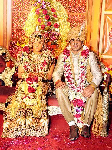 Savi And Sushil Kumar Marriage Photos