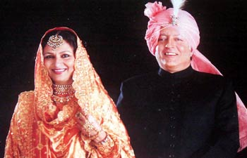 Mansoor Ali Khan And Sharmila Tagore Wedding Photos