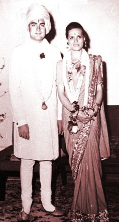 Rajiv Gandhi And Sonia Gandhi Wedding Photos