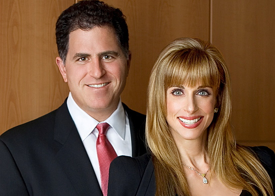 Susan Lynn Lieberman And Michael S. Dell Marraige Photos
