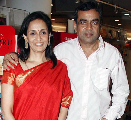 Swaroop Sampat And Paresh Rawal Marraige Photos