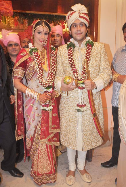 Bappi Lahiri Son Bappa Lahiri And Tanisha Varma Wedding Photos