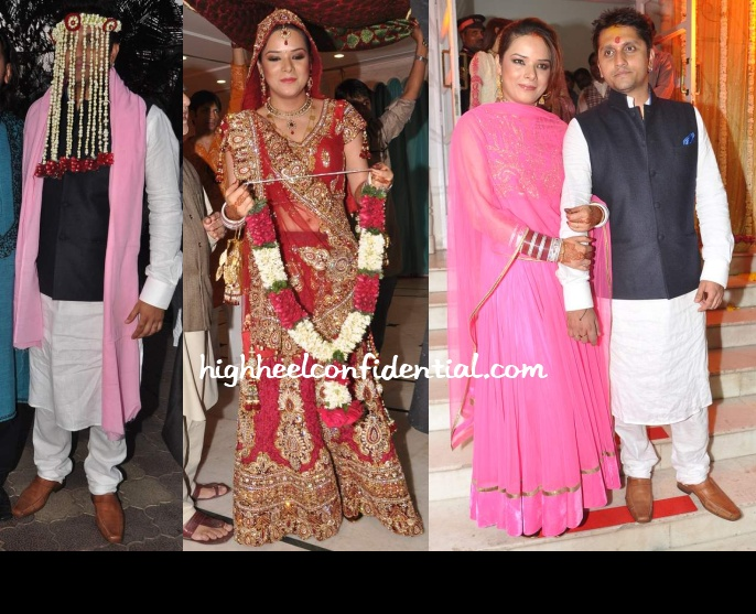 Mohit Suri And Udita Goswami Wedding Photos
