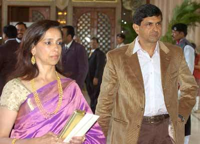 Prakash Padukone And Ujjala Wedding Photos