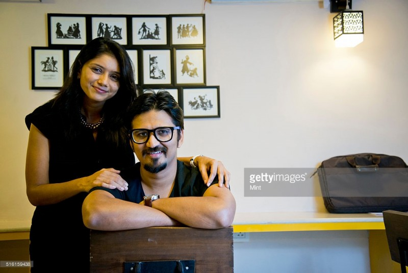 Amit Trivedi And Krutee Trivedi Marriage Photos