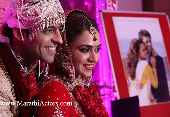Amruta Khanvilkar And Himmanshoo Ashok Malhotra Wedding Photos