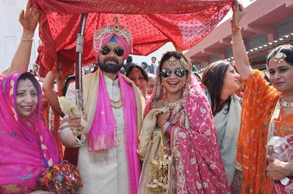 Gul Panag And Rishi Attari Wedding Photos