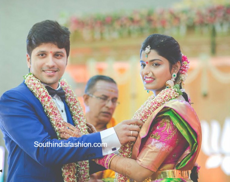 Prabhu Tej And Varsha Marriage Pics