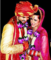 Raqesh Vashisth And Ridhi Dogra Marriage Photos