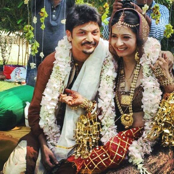 Shonali Nagrani And Shiraz Bhattacharya Wedding Pics