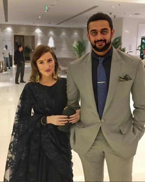 Aisha Actor Arunoday Singh And Lee Elton Marriage Pics