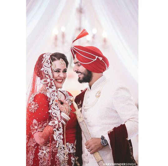Indian Cricketer Mandeep Singh And Jagdeep Jaswal Marriage Pics