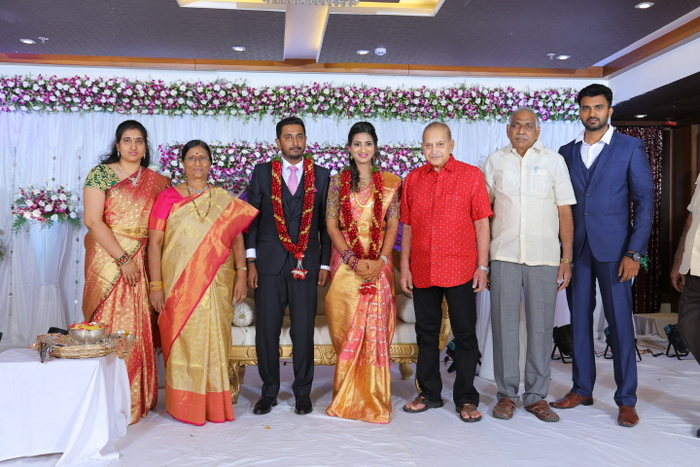 Sakhamuri Mallikarjuna Rao Daughter Jayalakshmi And Vinay Kumar Wedding Pics