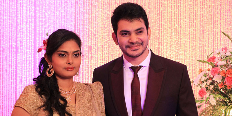 Tamil Actor Sethuraman And Uma Wedding Photos