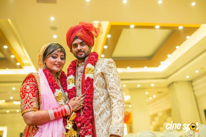 Tamil Actor Sharran Kumar And  Neha Wedding Photos