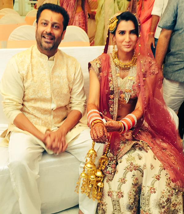 Abhishek Kapoor And Pragya Yadav Marriage Photos